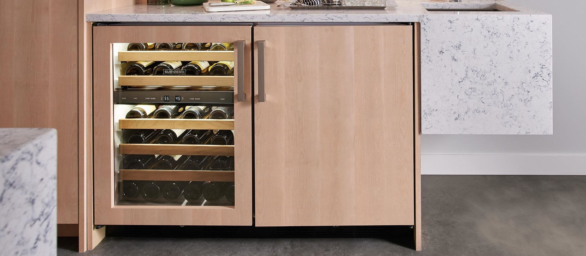 "Sub-Zero 24"" Undercounter Wine - Panel Ready (UW-24/O)"