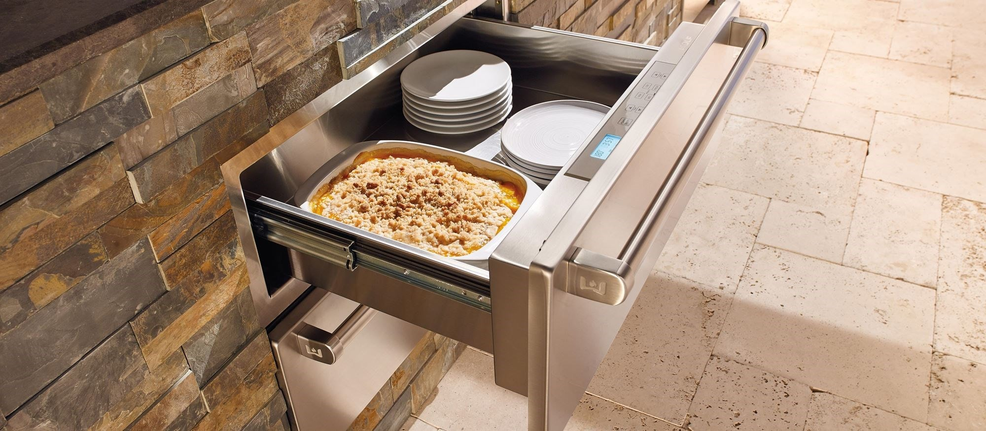 "Wolf 30"" Outdoor Warming Drawer (WWD30O)"