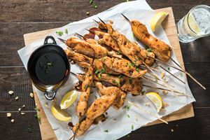 Honey/Soy Chicken Skewers