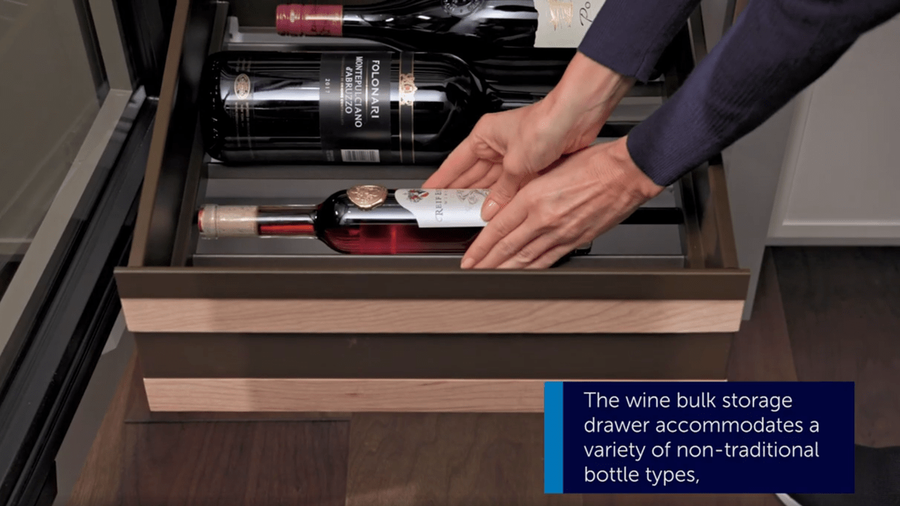 Sub-Zero Wine Storage - How To Install a Bulk Storage Drawer