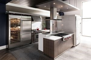 The Living Kitchens offer dedicated floor space to compare our products, explore options, and make purchases.