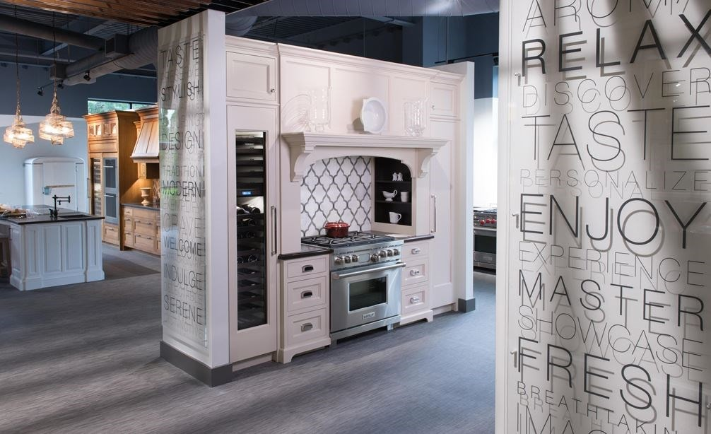 Visit and explore a full range of fully functional luxury kitchen at Sub-Zero, Wolf and Cove Showroom in Milford, Massachusetts