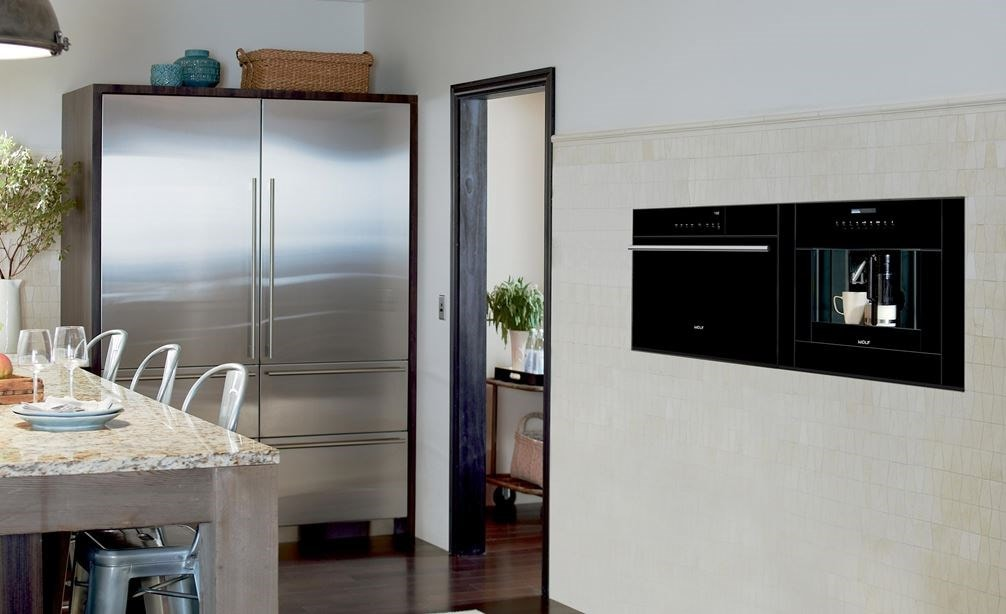 "Sub-Zero 30"" Designer Over and Under Freezer with Ice Maker - Panel Ready (IT-30FI) with 30"" Designer Over-and-Under Refrigerator / Freezer (IT-30CIID)"