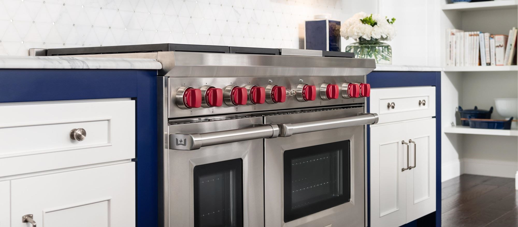 48 Gas Range 6 Burners And Infrared Charbroiler