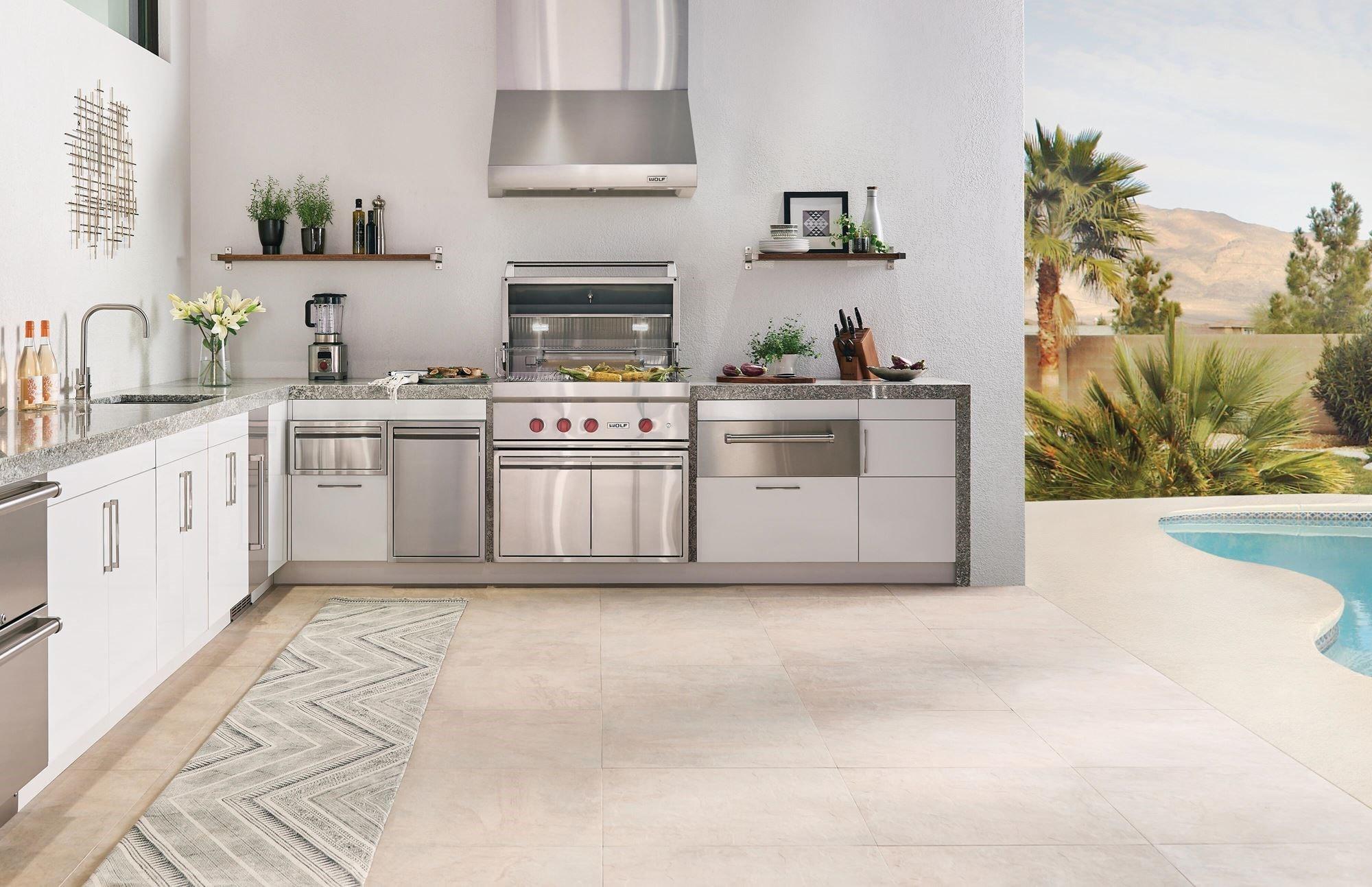 Groovy Outdoor Grills Built In Grills Wolf Outdoor Kitchens Interior Design Ideas Clesiryabchikinfo