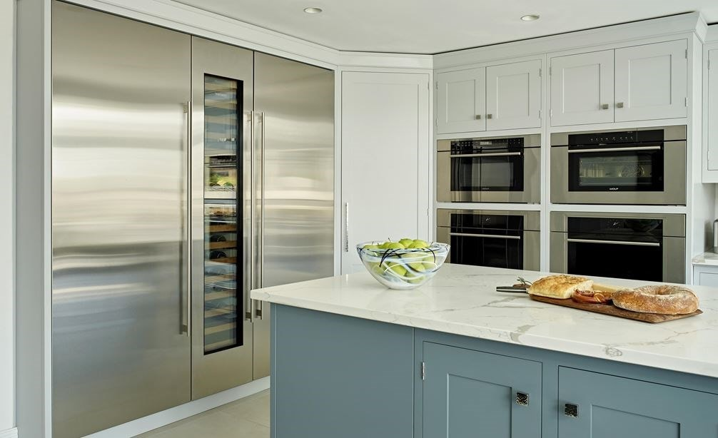 "Sub-Zero 30"" Designer Column All Freezer (IC-30FI) with 30"" Designer Column Refrigerator - Panel Ready (IC-30R)"