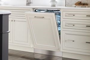 Cove built-in dishwasher with custom panels to match your kitchen design