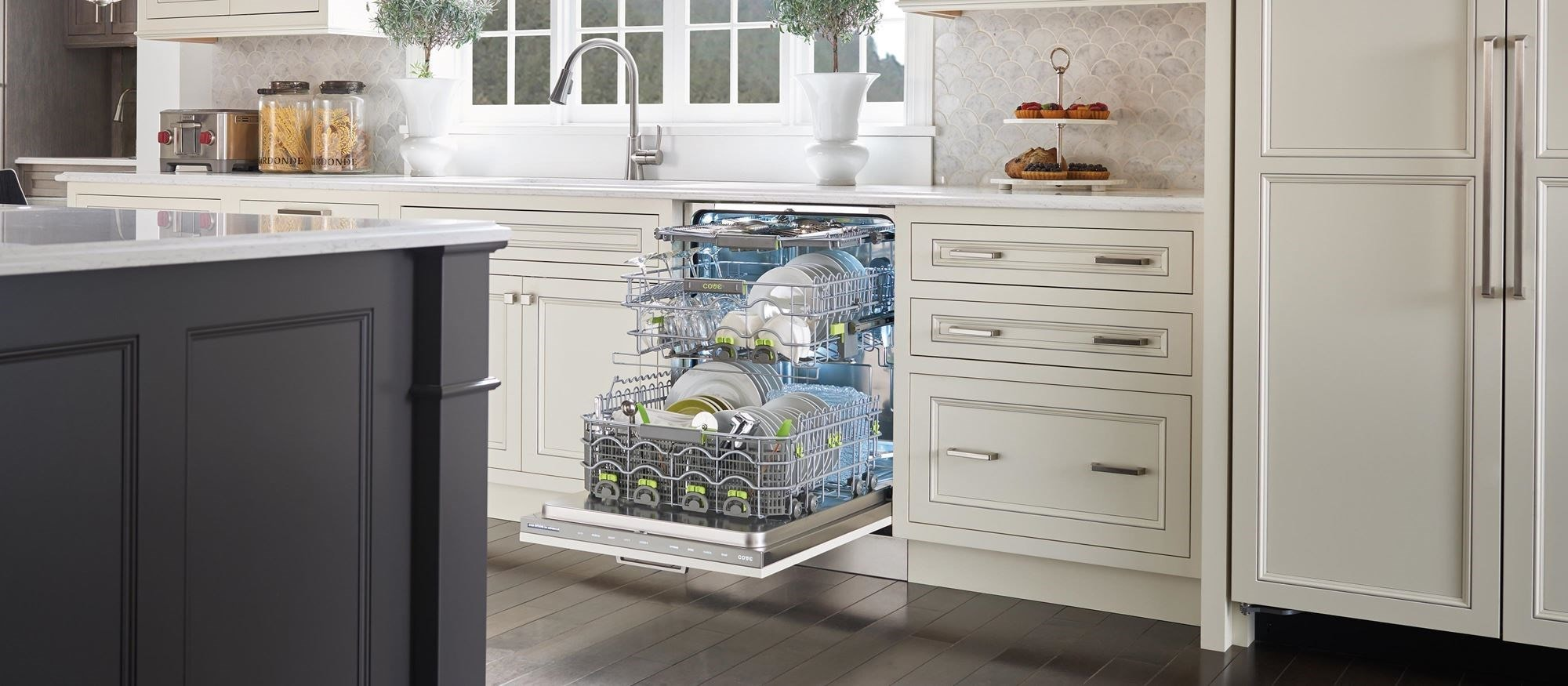 "Cove 24"" Dishwasher with Water Softener Panel Ready (DW2450WS)"