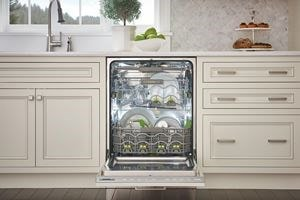 Cove dishwashers are smarter inside and out thanks to custom cycle options, adjustable interiors, custom exteriors and spotless results.