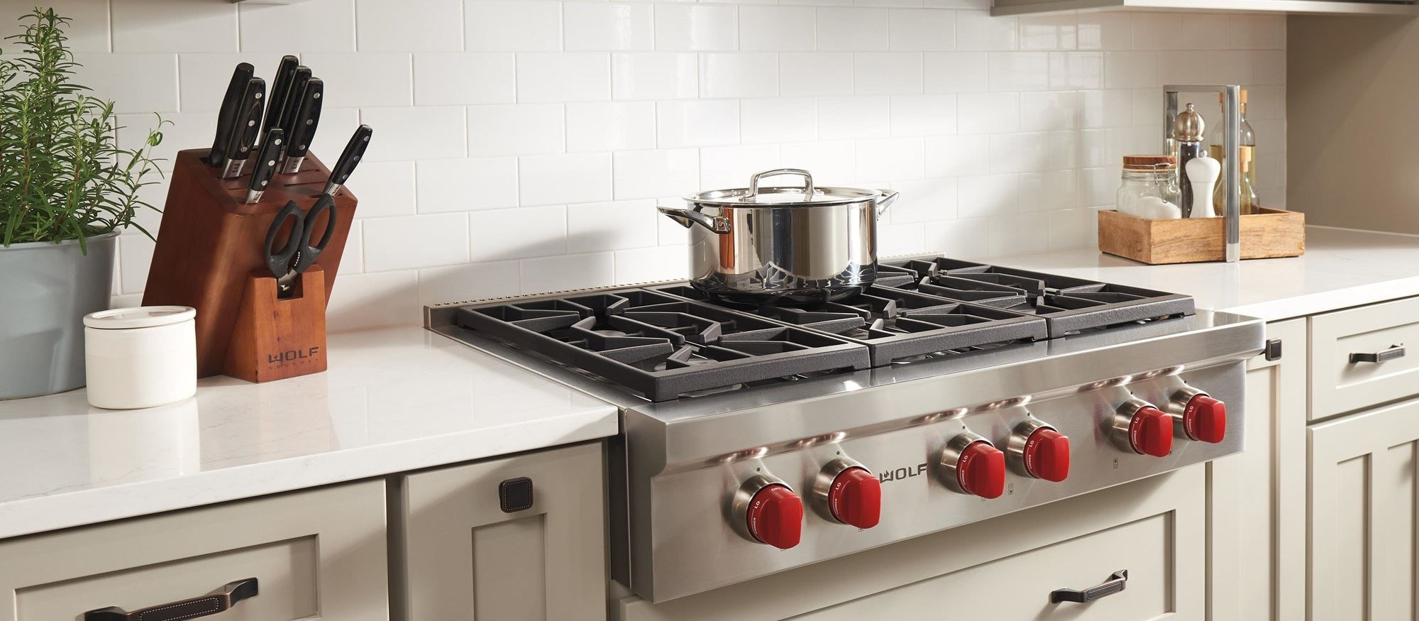 Sealed Burner Rangetop 6 Burners
