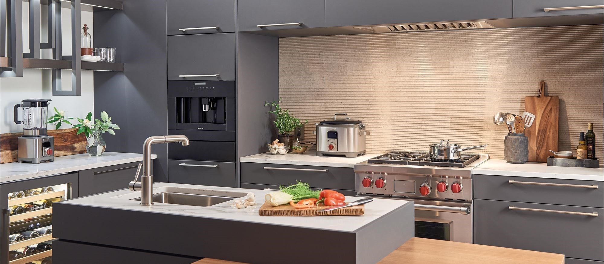 "Wolf 30"" Dual Fuel Range 4 Burner (DF304) Cooktop"