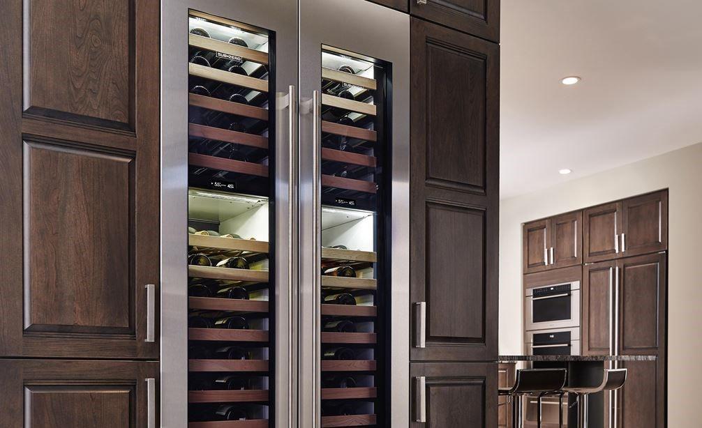 Sub Zero 18 Quot Designer Wine Storage Panel Ready Iw 18