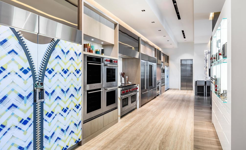Our Showroom Concierge can connect you with local professionals for your project at the Sub-Zero, Wolf and Cove Showroom in Miami, Florida