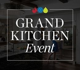 Purchase a qualifying Sub-Zero, Wolf, and Cove appliance package during our Grand Kitchen Event and receive 3 additional years of protection with Sub-Zero Care Plus.