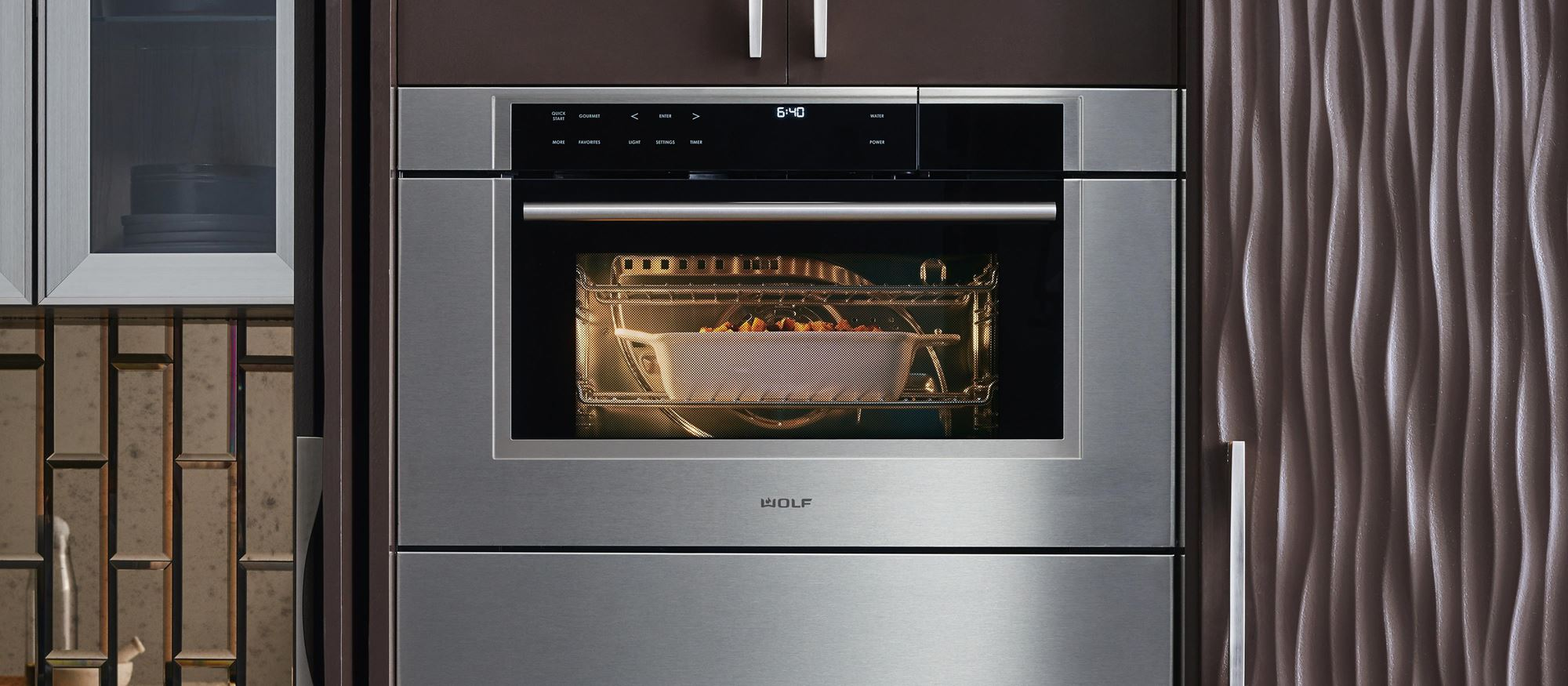 "Wolf 30"" M Series Transitional Convection Steam Oven (CSO30TM/S/TH)"