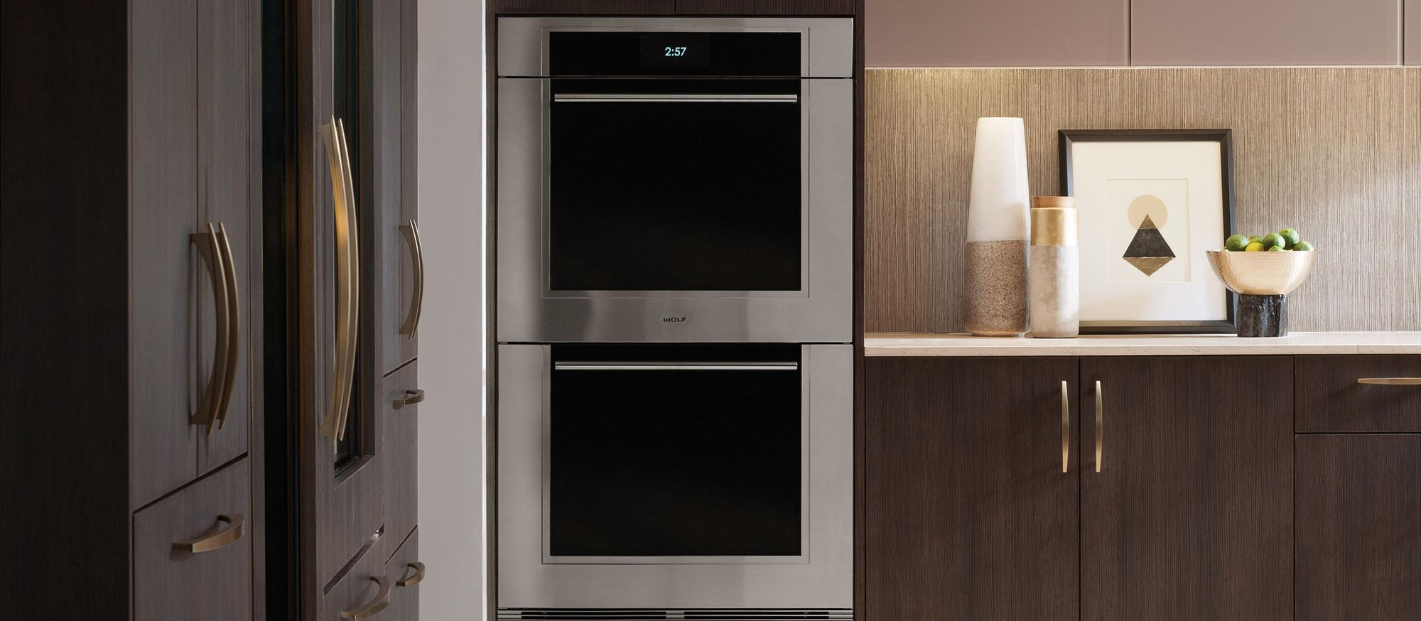 "Wolf 30"" M Series Transitional Built-In Double Oven (DO30TM/S/TH)"