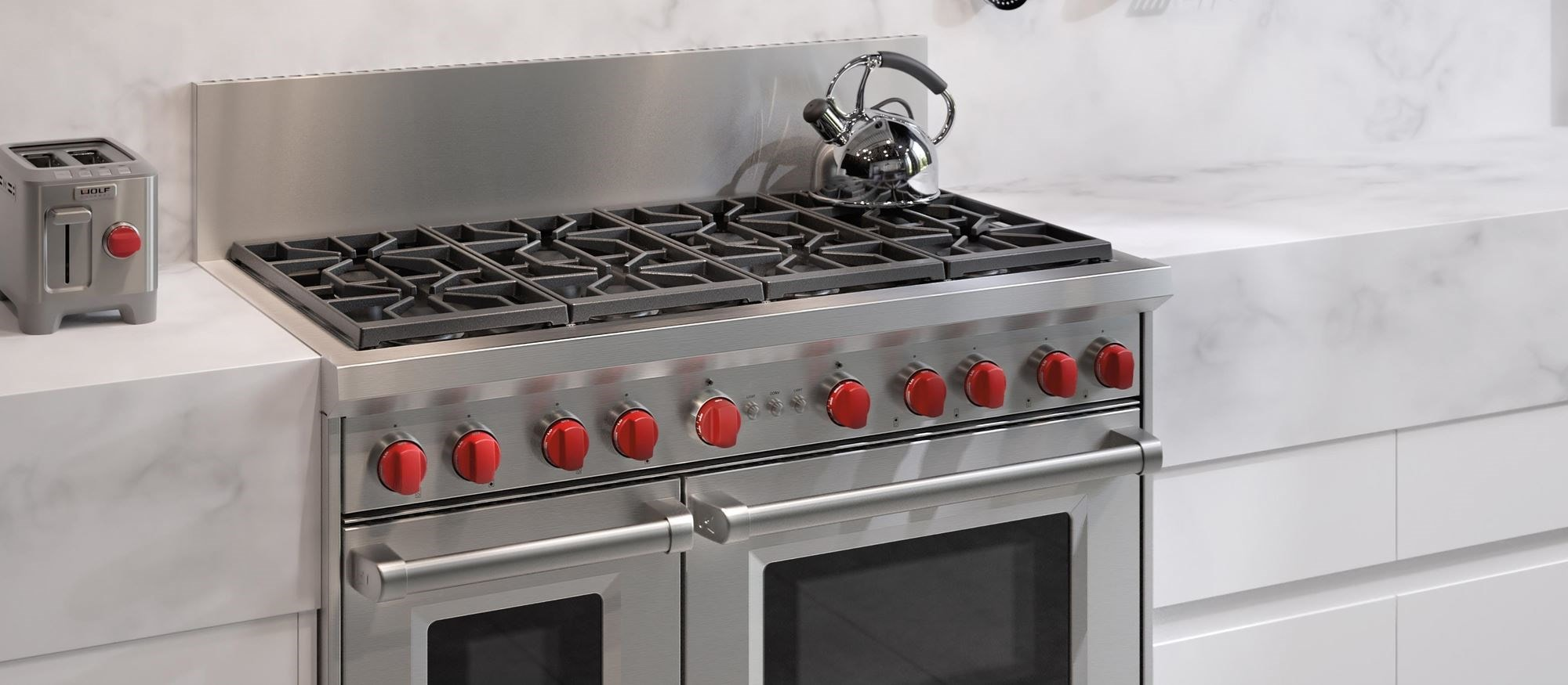 48 Gas Range 8 Burners