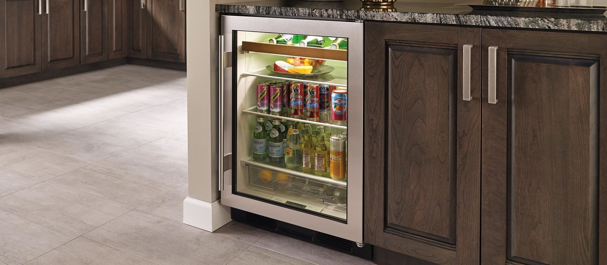 "Sub-Zero 24"" Undercounter Beverage Center (UC-24BG/S)"