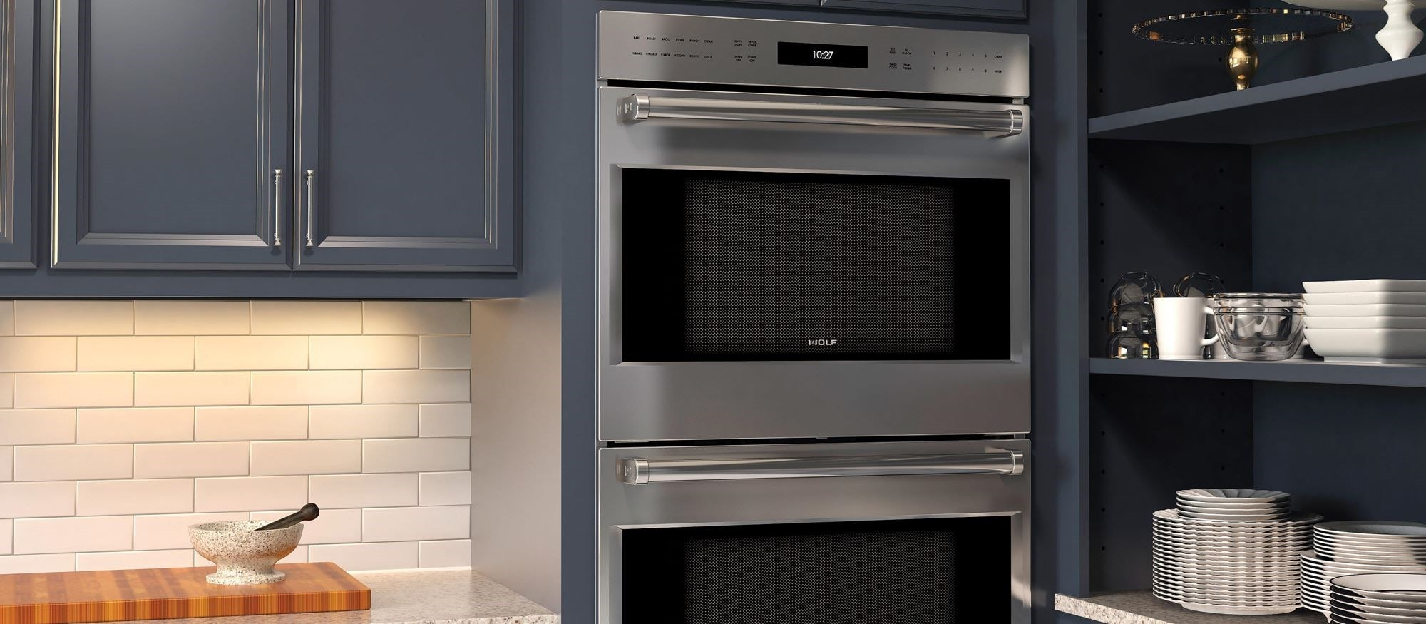 "Wolf 30"" E Series Professional Built-In Double Oven (DO30PE/S/PH)"