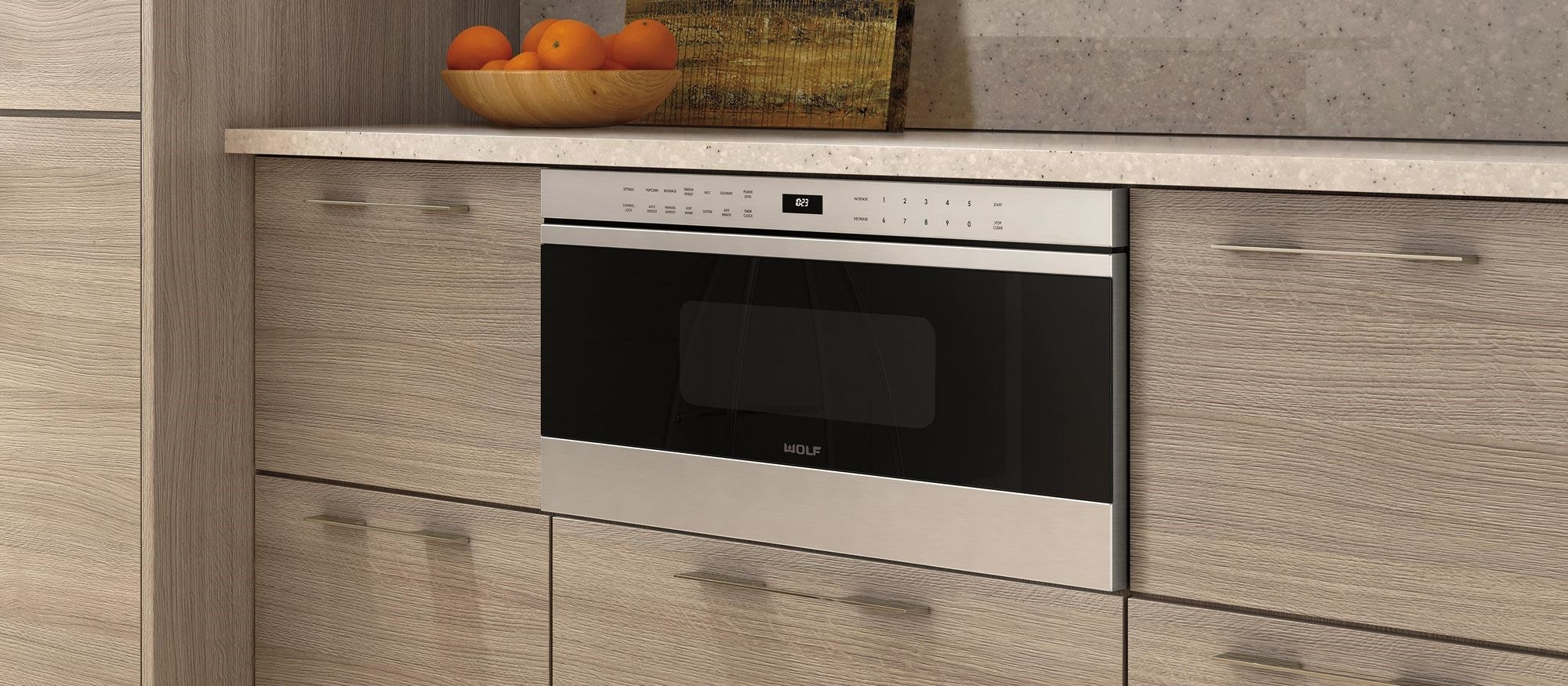 "Wolf 30"" Transitional Drawer Microwave Oven (MD30TE/S)"