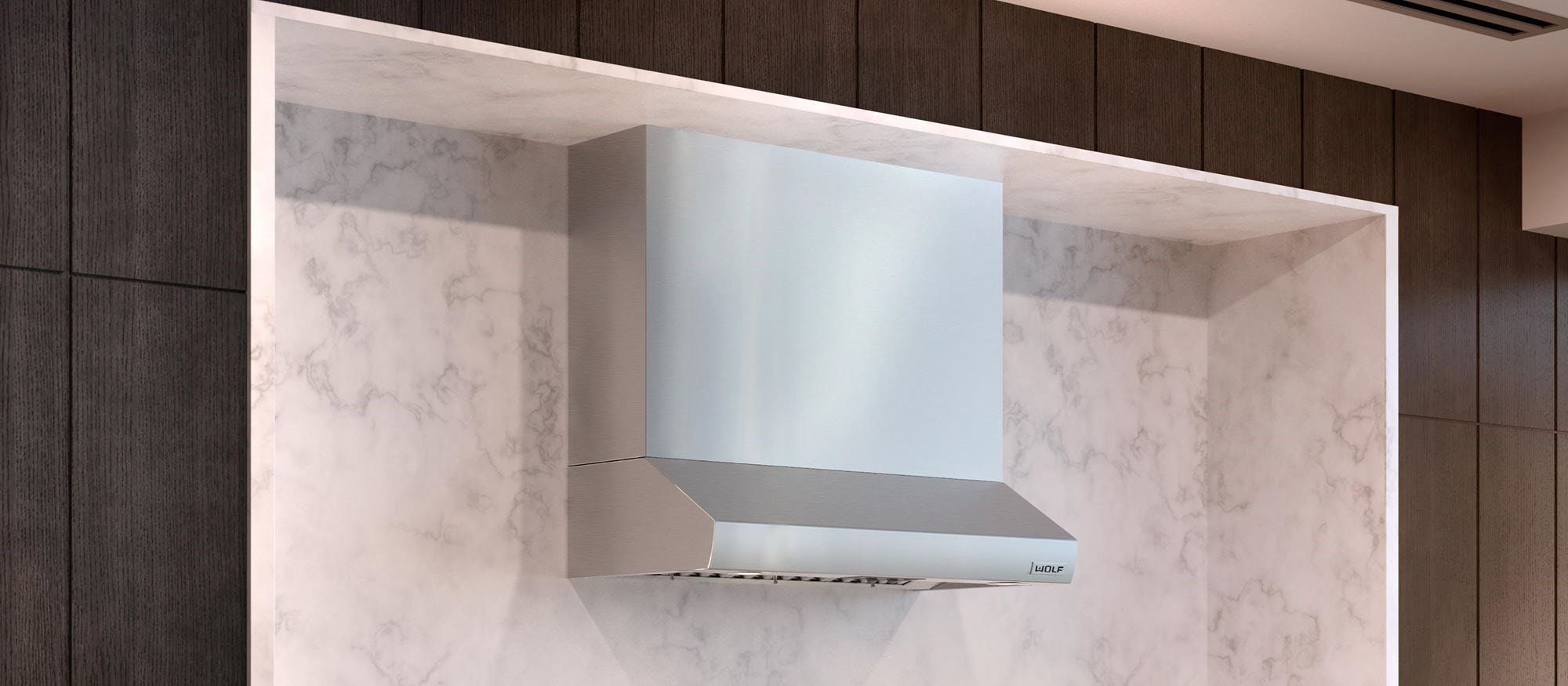 "Wolf 42"" Low Profile Wall Hood (PW422210)"
