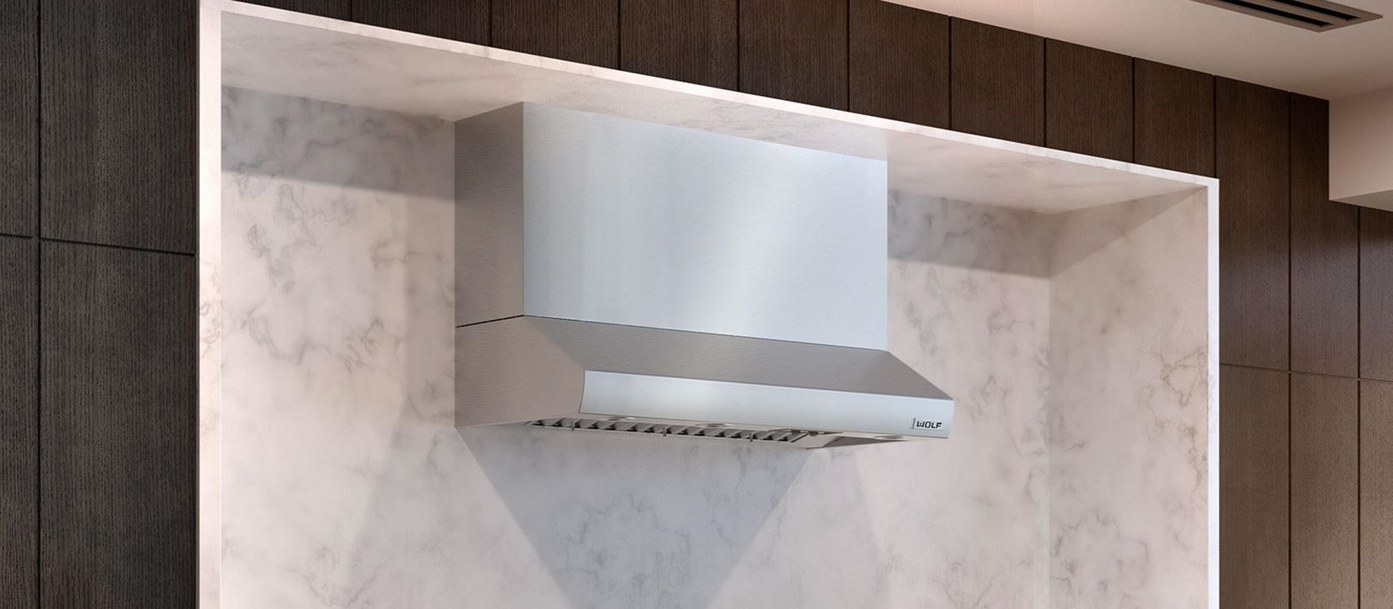 "Wolf 48"" Low Profile Wall Hood (PW482210)"