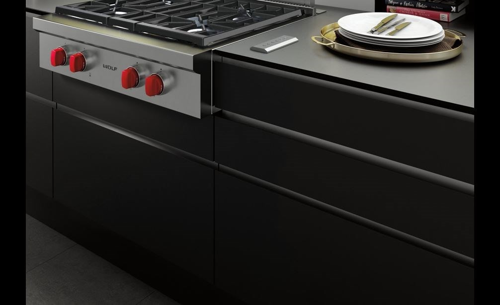 The Wolf 30 Downdraft Ventilation Dd30 Featured With Sealed Burner