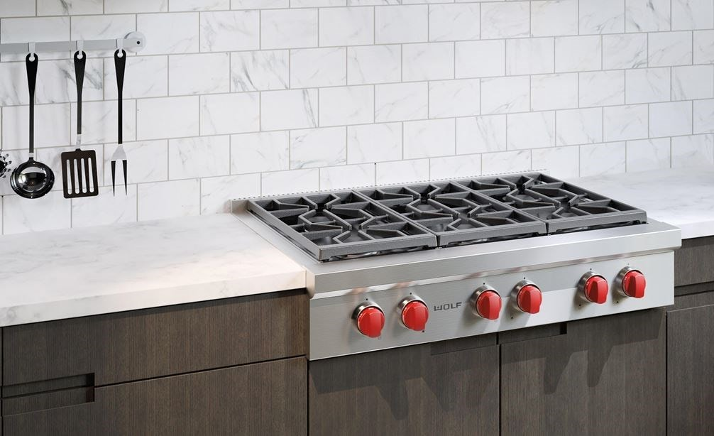 36 Sealed Burner Rangetop 6 Burners