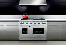 See the latest in Gas Ranges from Wolf.