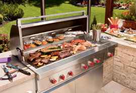 Exceptional performance through years of outdoor cooking.
