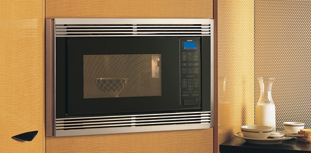 Wolf Built In 24 Quot Microwave Mw24 W 27 Quot Stainless Trim Kit