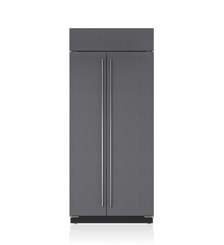 "Sub-Zero 36"" Built-In Side-by-Side Refrigerator/Freezer - Panel Ready BI-36S/O"