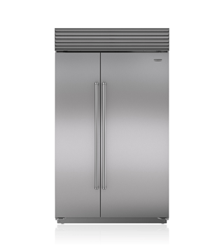 "Sub-Zero 48"" Built-In Side-by-Side Refrigerator/Freezer with Internal Dispenser BI-48SID/S"