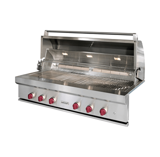 Outdoor grills built in grills wolf outdoor kitchens for Gasgrill outdoor kuche