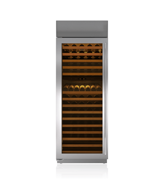 "Sub-Zero 30"" Built-In Column Wine Storage WS-30/S"
