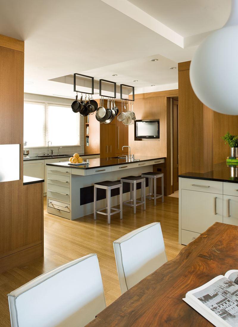 Naturally contemporary kitchen gallery sub zero wolf for Apartment zero design