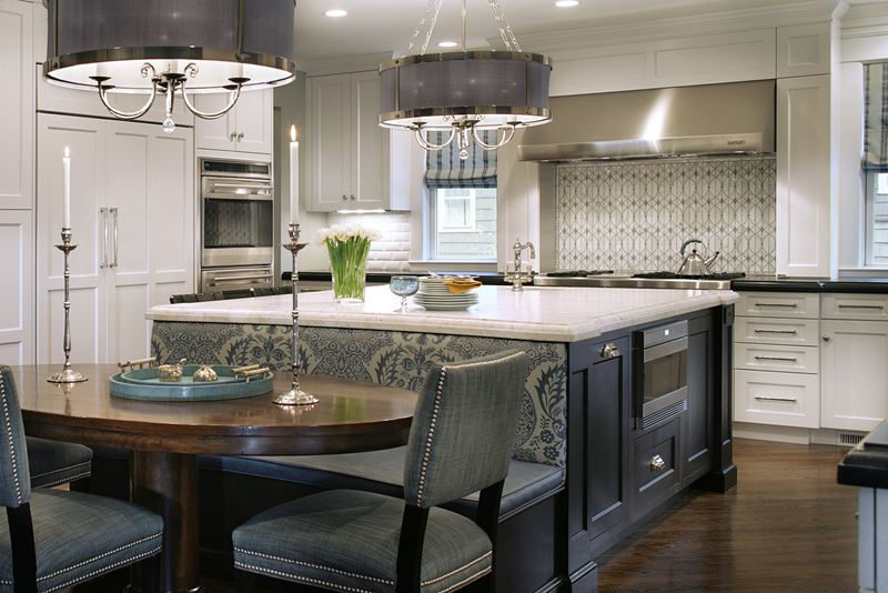 Kitchen island not centered - Nantucket Now Kitchen Gallery Sub Zero Amp Wolf Appliances