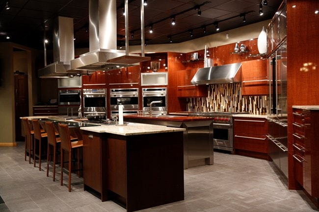 Sub zero and wolf showroom denver by roth showroom sub for Kitchen showrooms denver