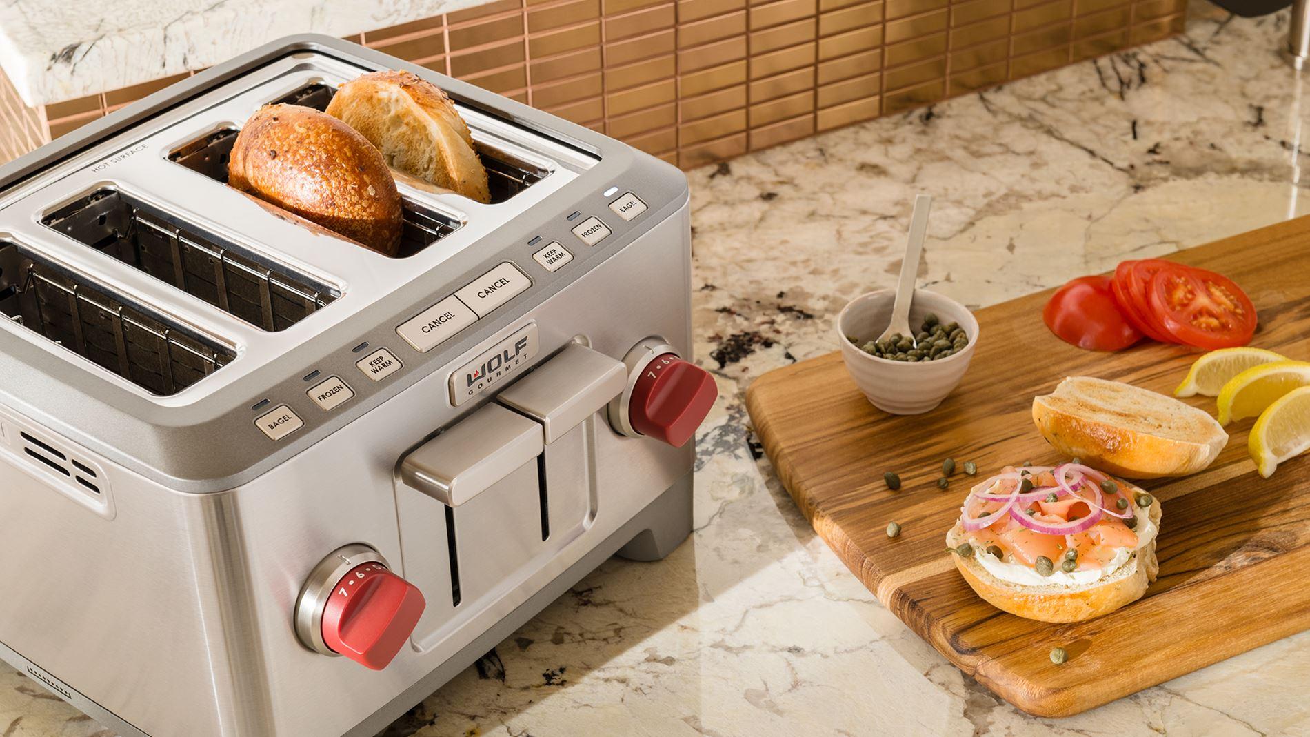 Wolf toaster countertop