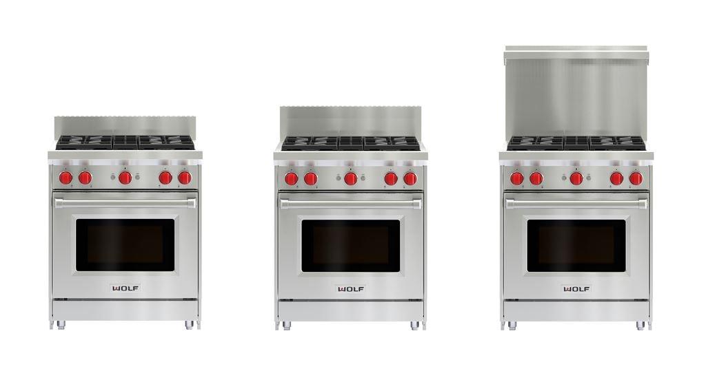 Gas Range Risers | Sub-Zero and Wolf Appliances