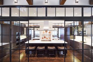 Back-to-back kitchen
