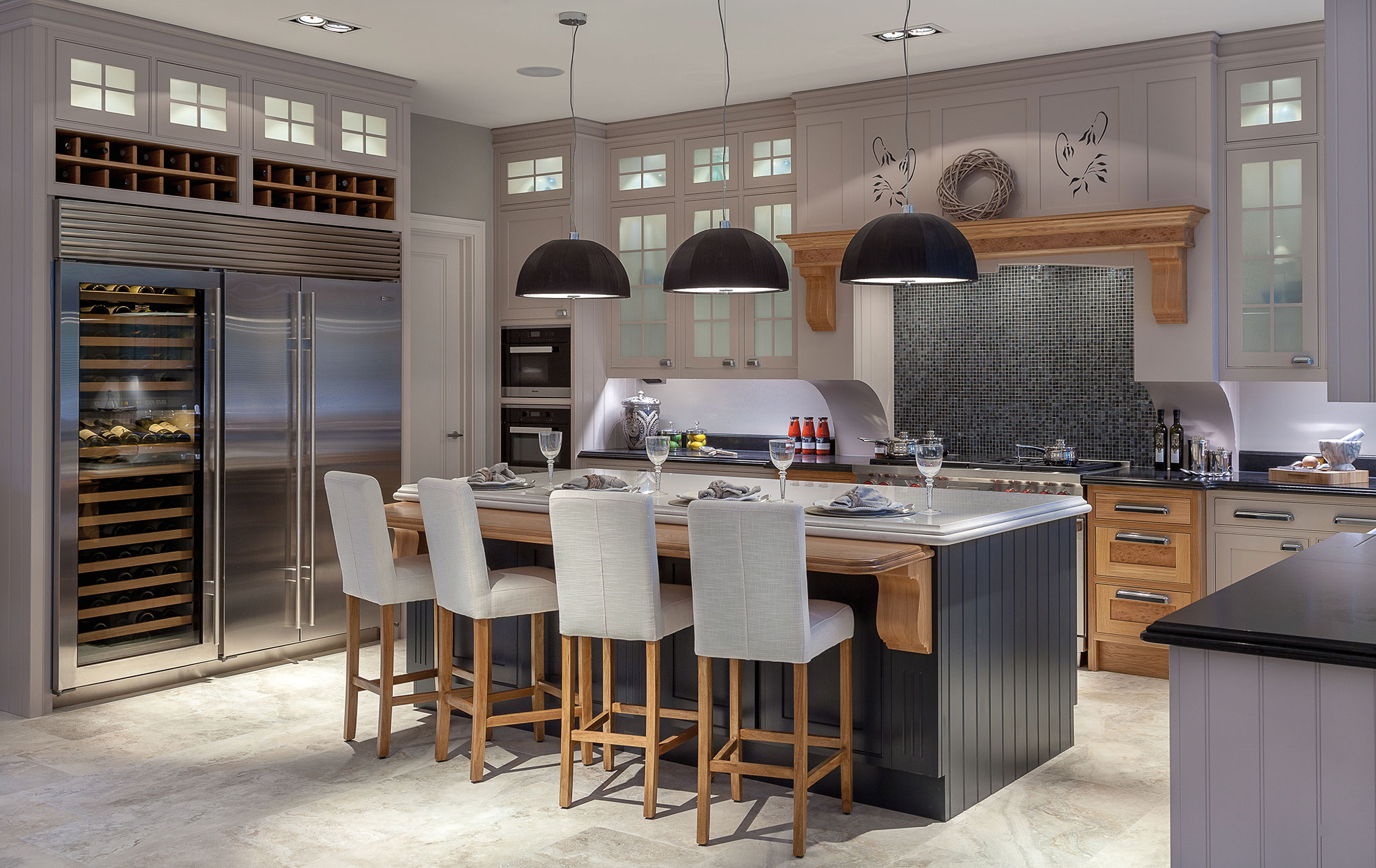 Evesley House Holland Place Kitchen Gallery Sub Zero Wolf Appliances